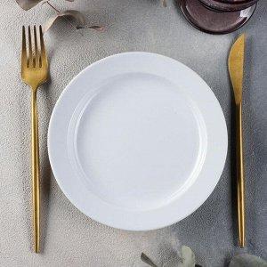Тарелка мелкая Башкирский фарфор Принц «Бельё», d=17,5 см