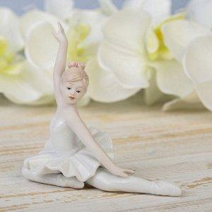 "Сувенир керамика ""Прекрасная балерина"" 12х12,4х7 см"