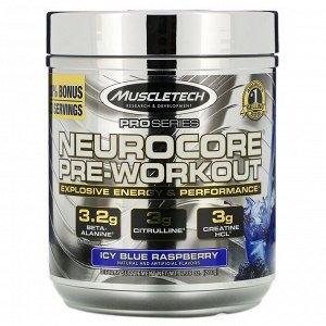 Muscletech, Pro Series, Neurocore Pre-Workout, замороженная голубая малина, 229 г (8,08 унции)