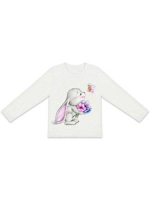 """Лонгслив """"Зайчонок"""" для малышей"""