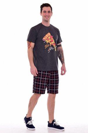 Пижама мужская 9-159 (темно-серый)