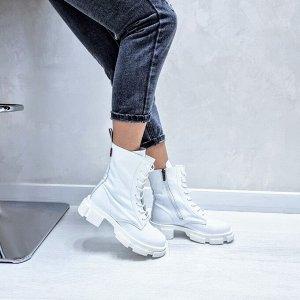 Ботинки  SPRING белый