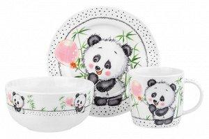 """""""Панда"""" Набор посуды 3пр. 290165"""