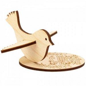 """Сувенир для раскрашивания """"Птичка"""" на подставке"""
