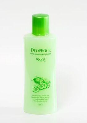 Успокаивающий тонер для лица с экстрактом огурца  Hydro Calming Down Cucumber Toner
