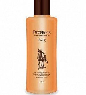 Тонер с лошадиным жиром и гиалуроновой кислотой Horse Oil Hyalurone Toner