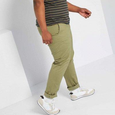 Французская одежда для женщин и мужчин.Распродажа и новинки  — Мужчины, большие размеры. Брюки, джинсы — Одежда