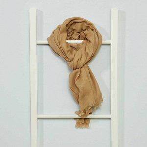 Однотонный платок - бежевый