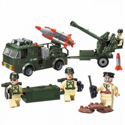 ВЕЛОСИПЕДЫ🌠ИГРУШКИ❋Большой ассортимент❋Быстрая доставка  — Армия — Конструкторы и пазлы