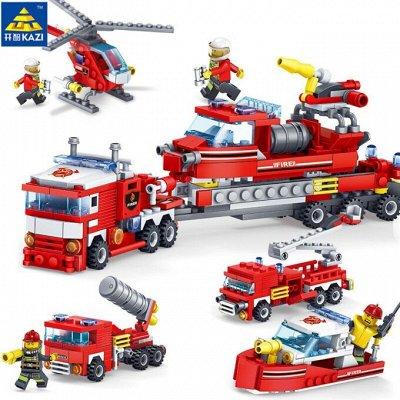 ВЕЛОСИПЕДЫ🌠ИГРУШКИ❋Большой ассортимент❋Быстрая доставка  — Пожарный — Конструкторы и пазлы