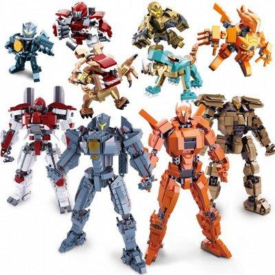 ВЕЛОСИПЕДЫ🌠ИГРУШКИ❋Большой ассортимент❋Быстрая доставка  — Роботы — Конструкторы и пазлы