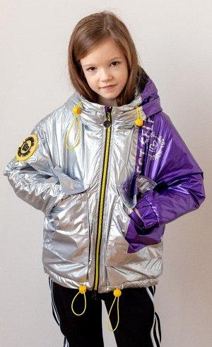 2127 Куртка для девочки Lusiming