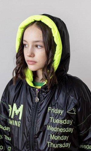 2130 Куртка для девочки Lusiming