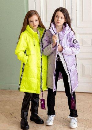 2107 Пальто на синтепоне Lusiming