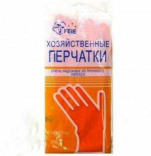 Перчатки хозяйственные из прочного латекса