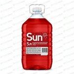 Стеклоомывающая жидкость SUN летняя, 0°C, с водоотталкивающим эффектом, 5л