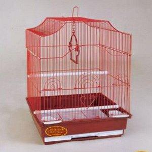 Клетка для птиц Золотая клетка 35*28*43cм, эмаль