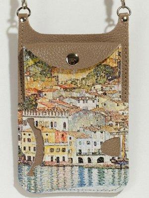 Стильная сумка-чехол для телефона BRANCO