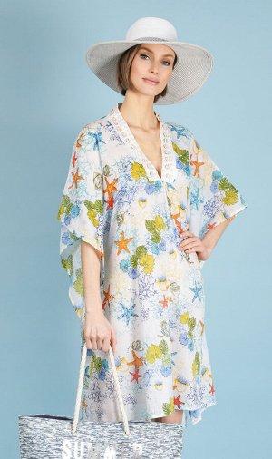 Платье 100% хлопок, FABRETTI, FCH20714-9