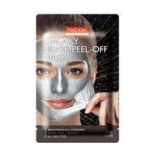 Purederm Galaxy Silver Peel-Off Mask Очищающая маска-пленка для лица Серебряная 10гр