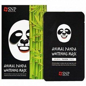 Осветляющая тканевая маска для лица, 25 мл SNP Animal Panda Whitening Mask