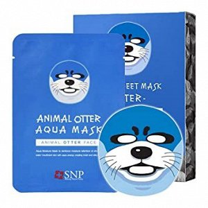 SNP Animal Otter Aqua Mask Увлажняющая тканевая маска, 25 мл