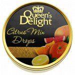 """Леденцы """"цитрусовые фрукты"""" 150г Queen's Delight"""