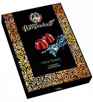 Madame Pompadour Gin Tonic шоколадные конфеты 150 г