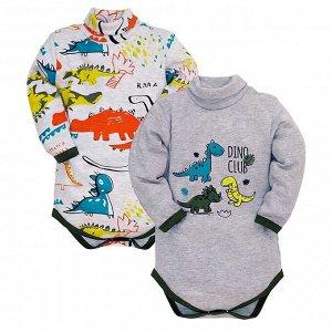 Комплект боди-водолазка из двух предметов Milimbi для малыша