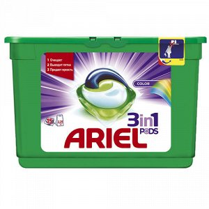 Гель СМС жидк. в растворимых капсулах ARIEL Liquid Capsules Color 15X23.8г