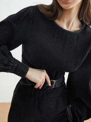 Платье джинсовое жен. FALA темно-серый