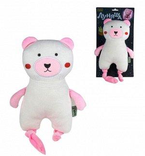 """Мягкая игрушка. Луняша """"Мишка"""" 25 см, светится в темноте арт.76570"""