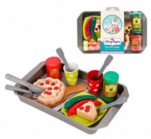 """Mary Poppins. Набор посуды с продуктами """"Кухни мира. Итальянская пицерия"""" арт.453140"""