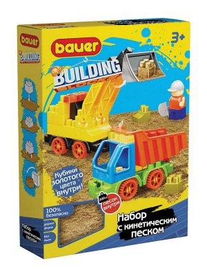 """Bauer.755 Конструктор """"Building"""" набор с погрузчиком и грузовиком  РРЦ 999 руб."""