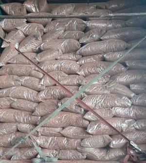 Кора сибирской лиственницы. Фракция Мелкая 1-3 см
