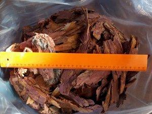 Кора сибирской лиственницы. Фракция Крупная 6-10 см