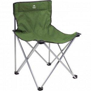 Стул складной кемпинговый JUNGLE CAMP Steper, 49 х 49 x 73 см, цвет зелёный
