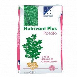 Удобрение Нутривант Плюс Картофель, 25 кг