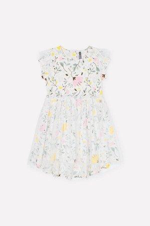 Платье(Весна-Лето)+girls (белая лилия, нежные цветы к285)