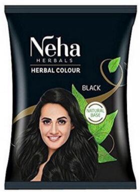 Краска для волос на основе натуральной хны Neha Herbals (Черный) 20 гр