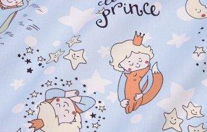 Ткань Сатин - Маленький принц 0,5*1,6м