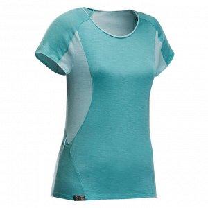 Футболка 1 футболка на несколько дней и никакого запаха! Отправляйтесь в поход налегке благодаря этой футболке, состоящей на 89% из шерсти мериноса. Сетчатые вставки из шерсти мериноса находятся под м