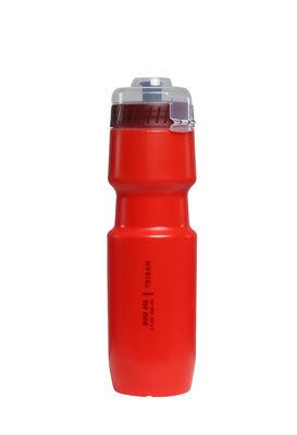Фляга Велосипедная фляга большого объема – 800 мл. Материал без вкуса и запаха пластика. Колпачок защищает насадку от разбрызгивания. Колпачок полностью снимается.