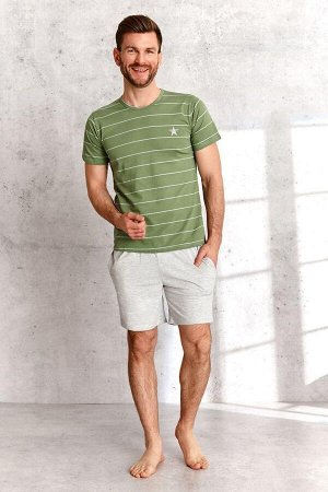 2513 SS21 BRUNO Пижама мужская с шортами