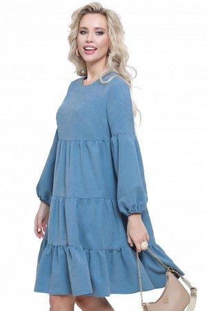 Платье Модная фантазия, блю
