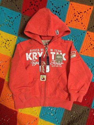 Толстовка 100% хлопок очень классная, фирма Krytic можно и для девочки, и для  мальчика.