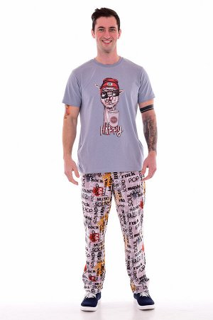 Пижама мужская 9-161 (серый)
