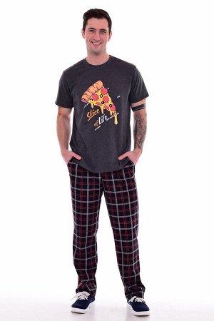 Пижама мужская 9-164 (темно-серый)
