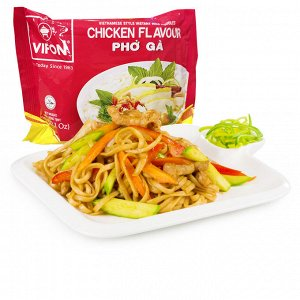 Лапша рисовая со вкусом курицы 60 гр в м/п