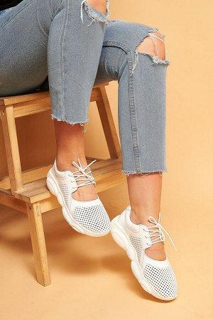 Кожаные кроссовки TED DREAM белые